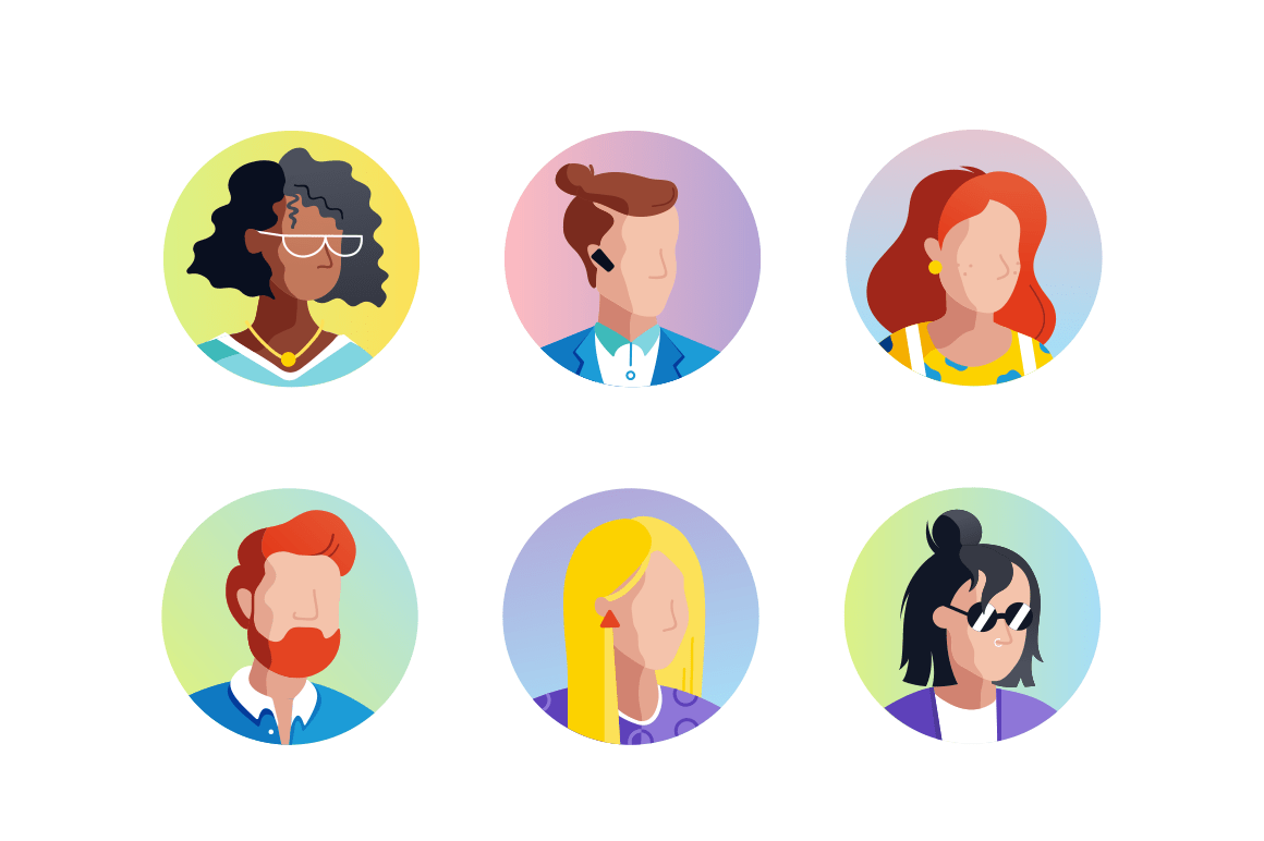 Set Avatars icons