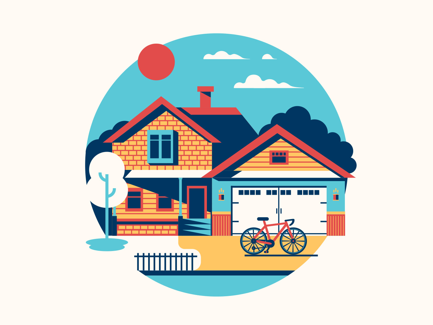 House icon illustration