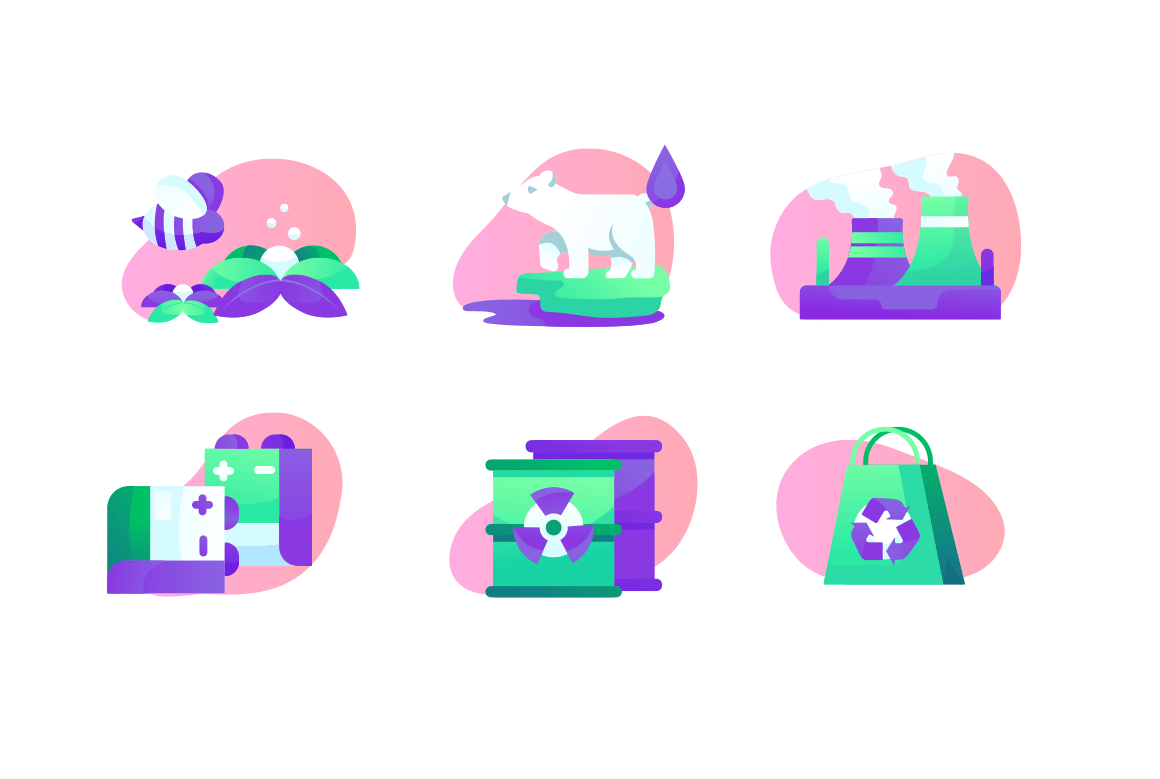 Set ecology Icons