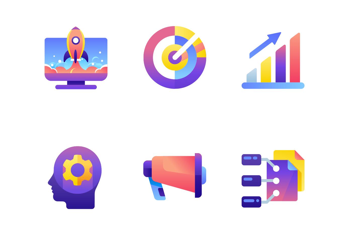 Set startup icons.