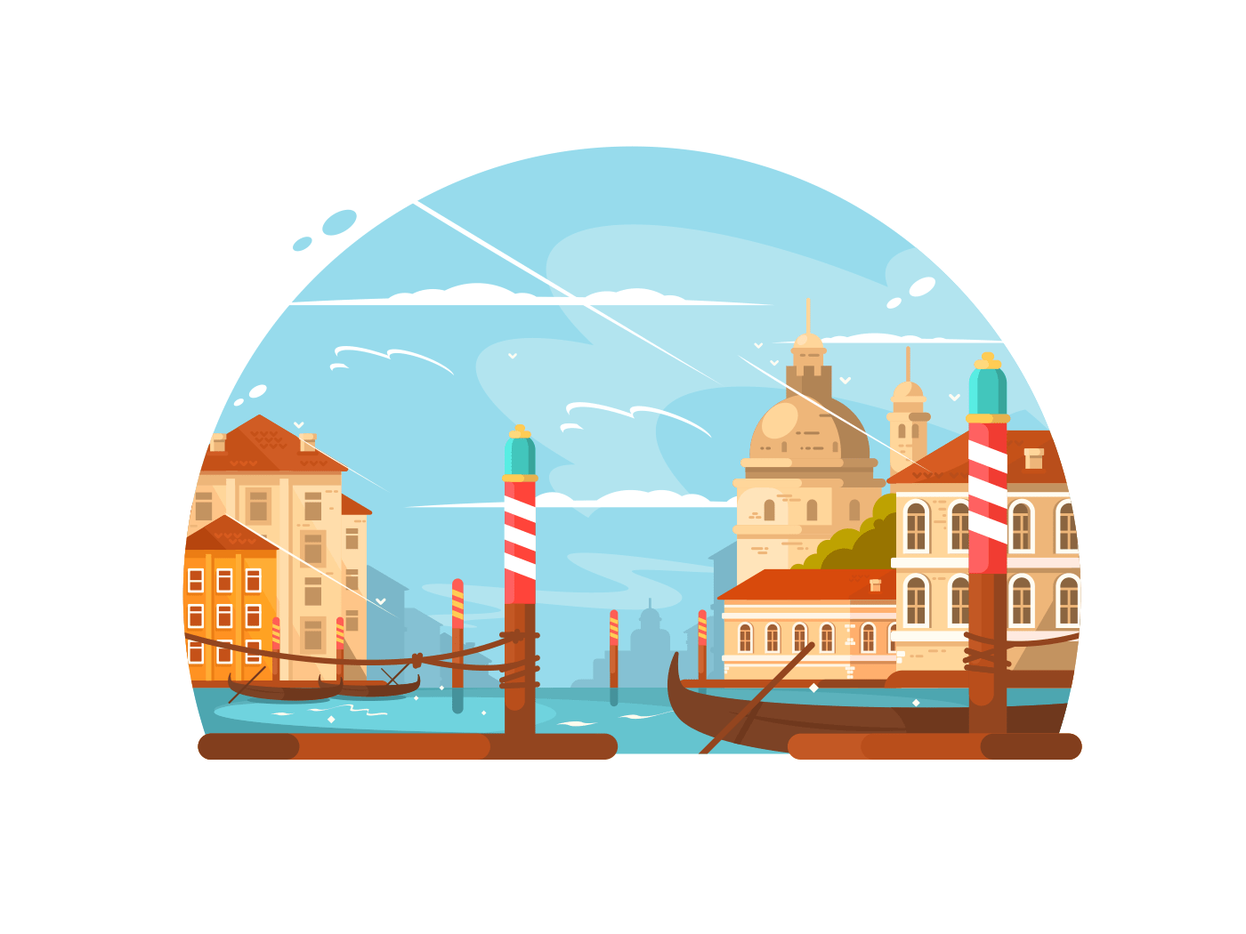 City of Venice illustration