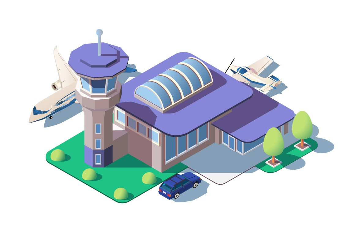 Big modern airport