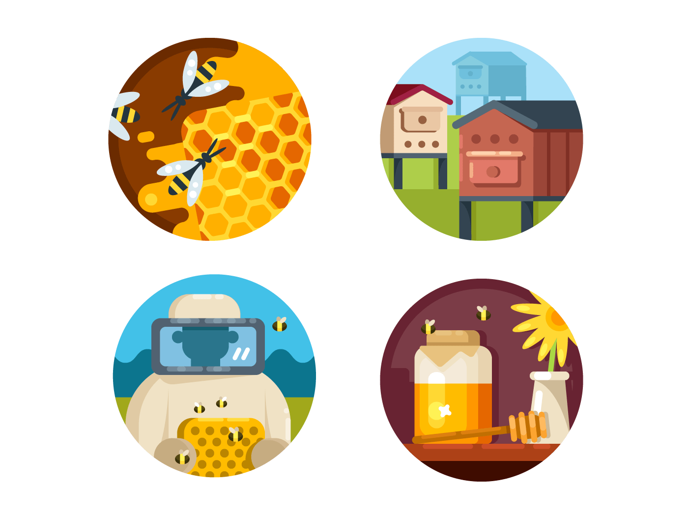 Apiary set icons