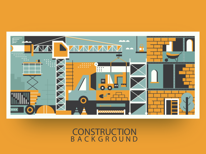 Background construction background