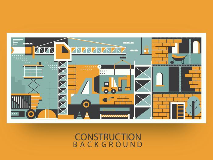Background construction background