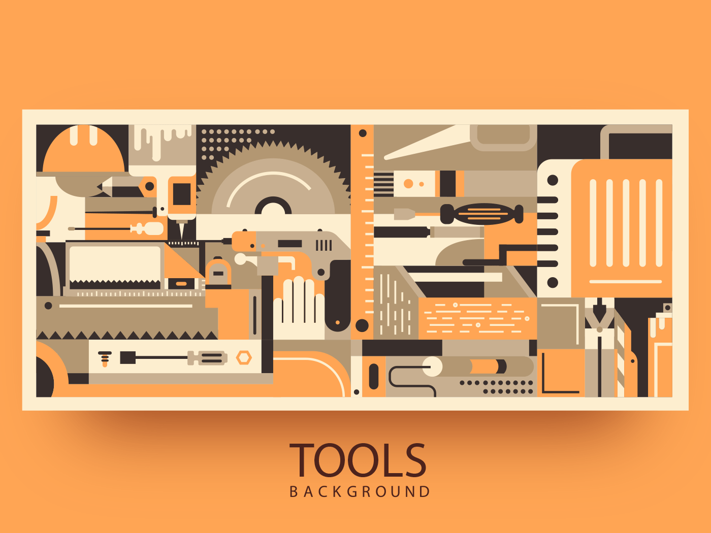 Materials and tools for building background