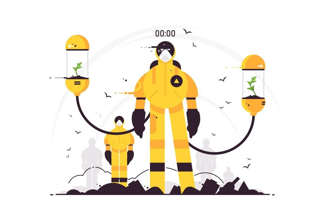 Environmental, sanitary and antiviruses protect