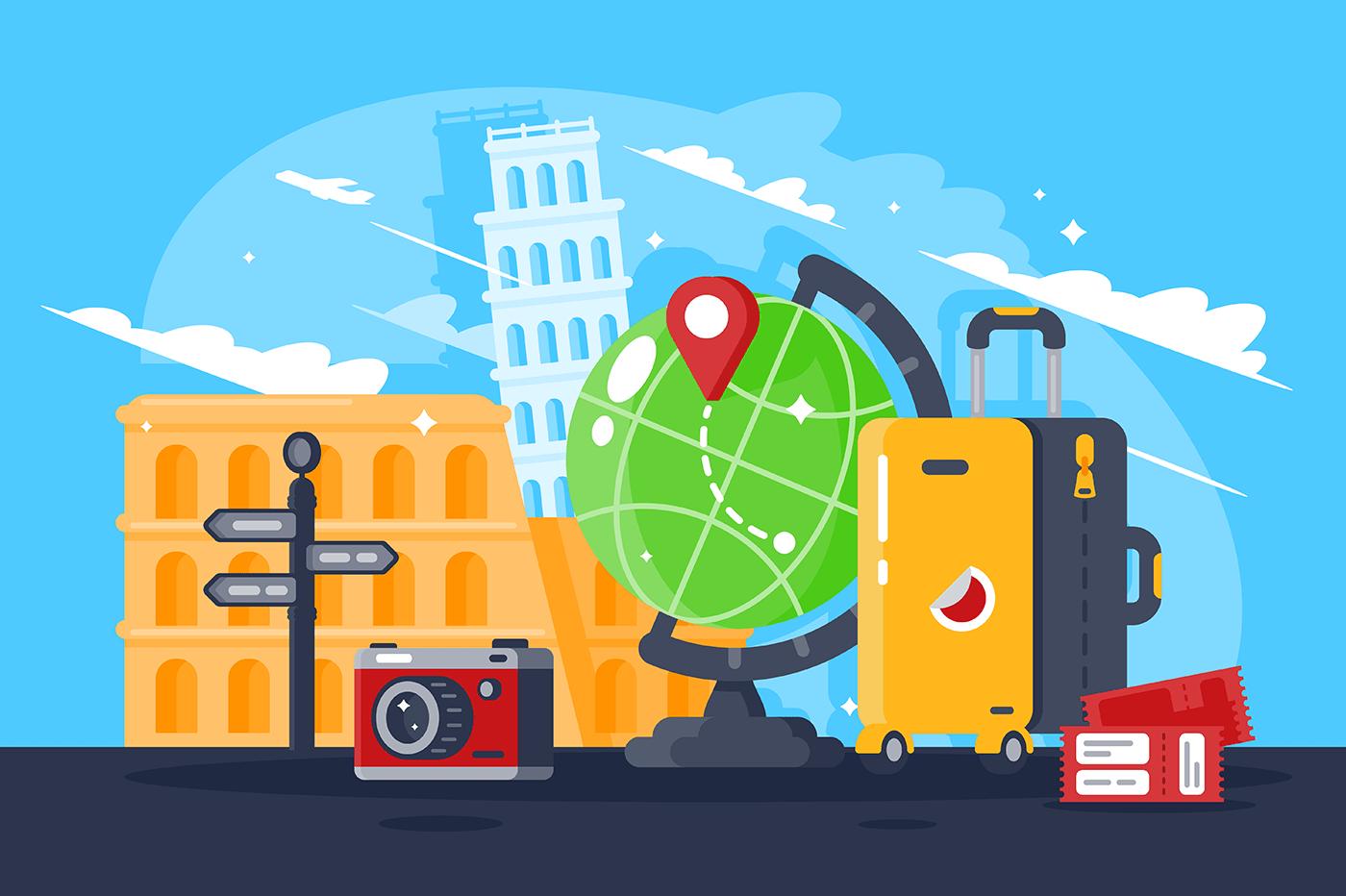 Great trip around the world.