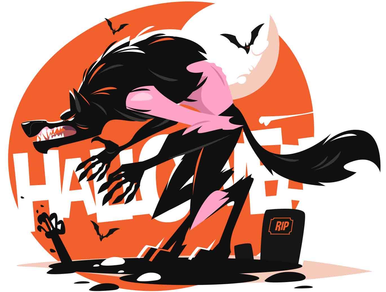 Halloween illustration series - header