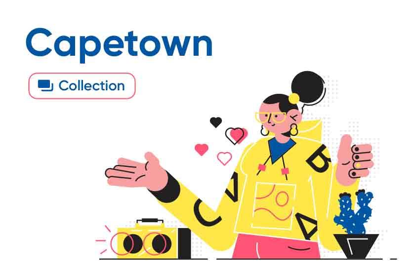 Capetown illustrations series
