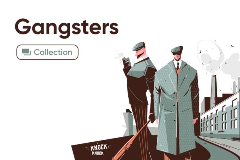 Gangster illustrations series