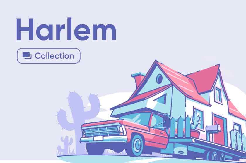 Harlem illustrations series Preview