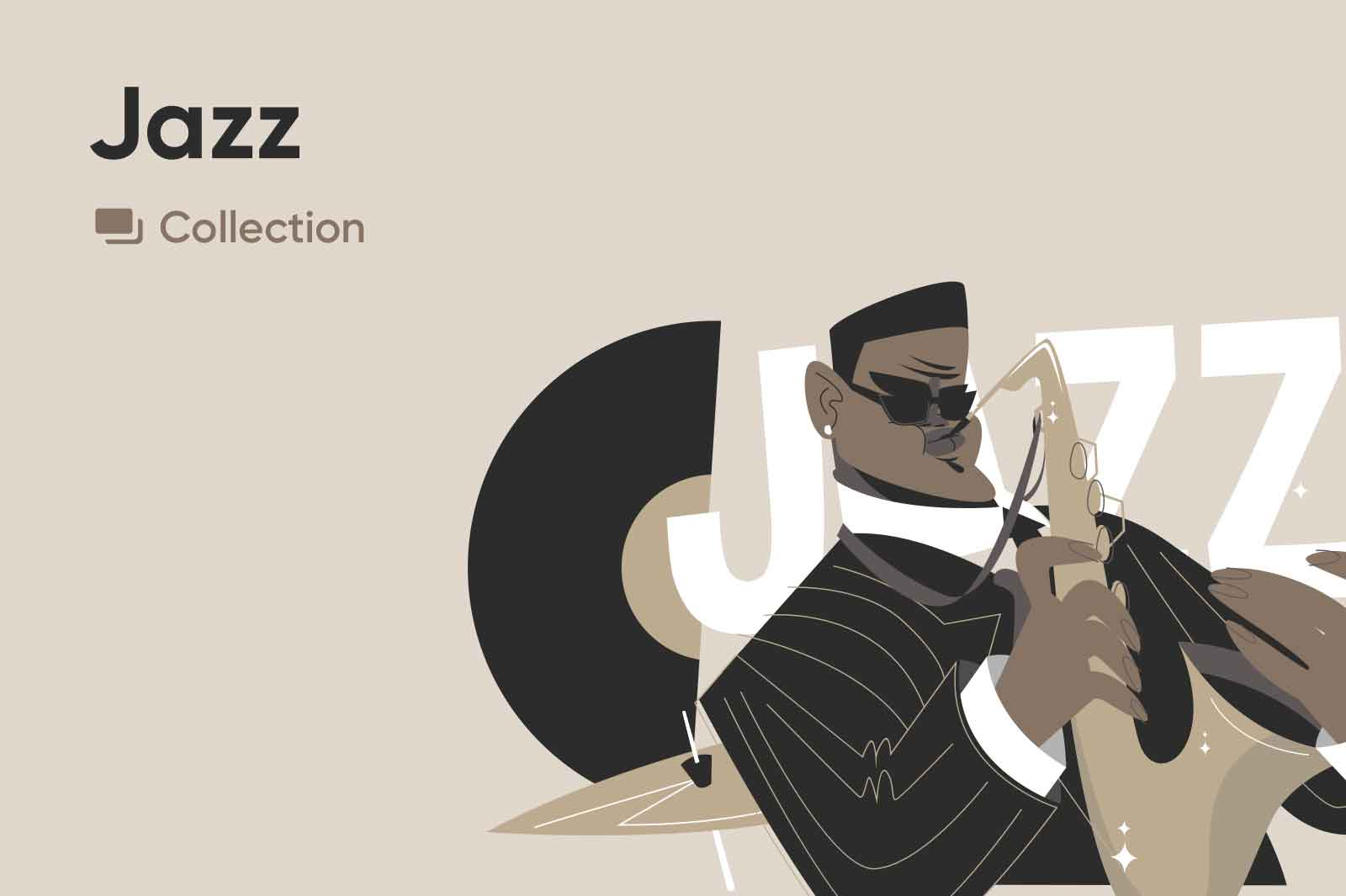 Jazz Illustrations Collection preview