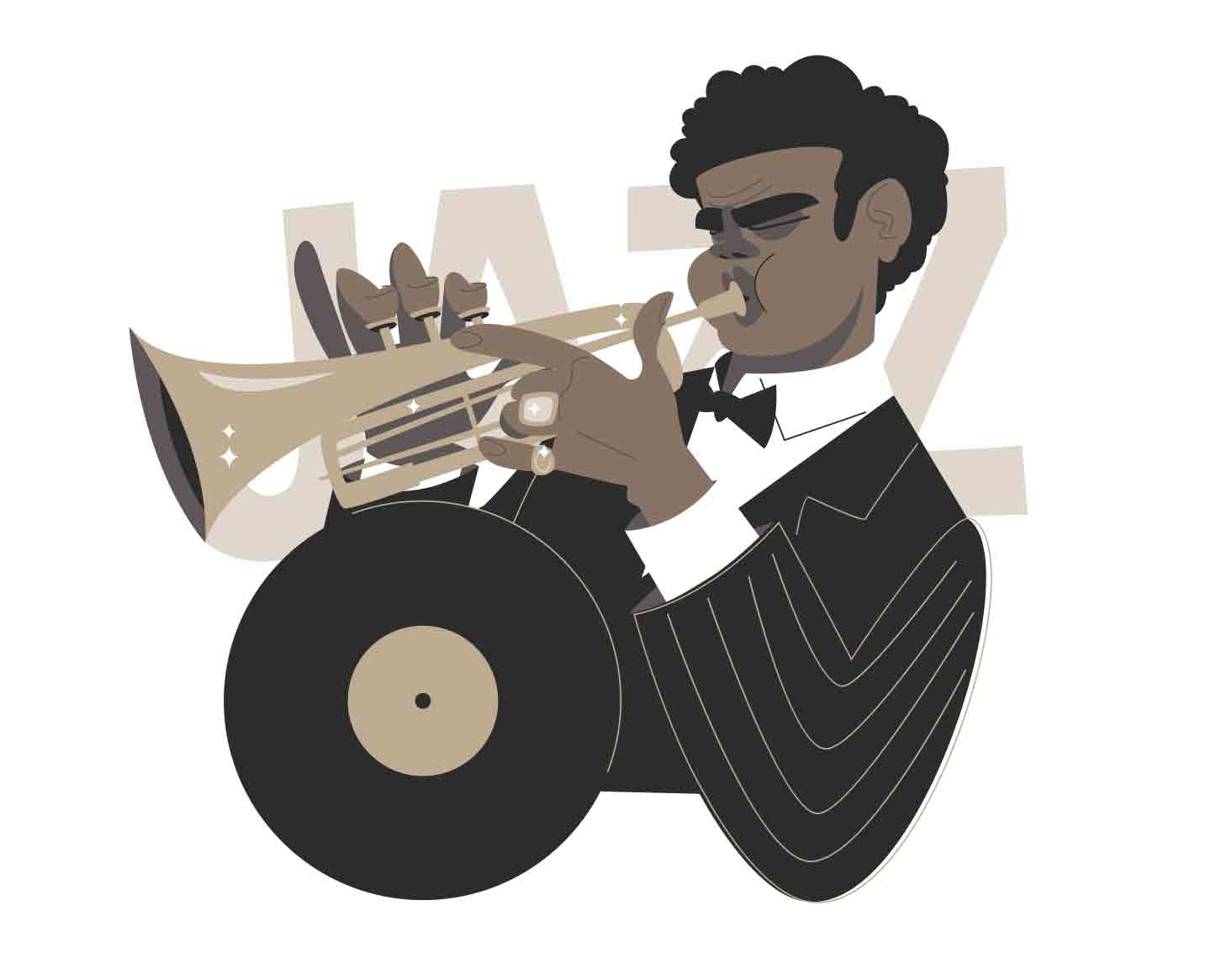 Jazz Collection illustrations series header image