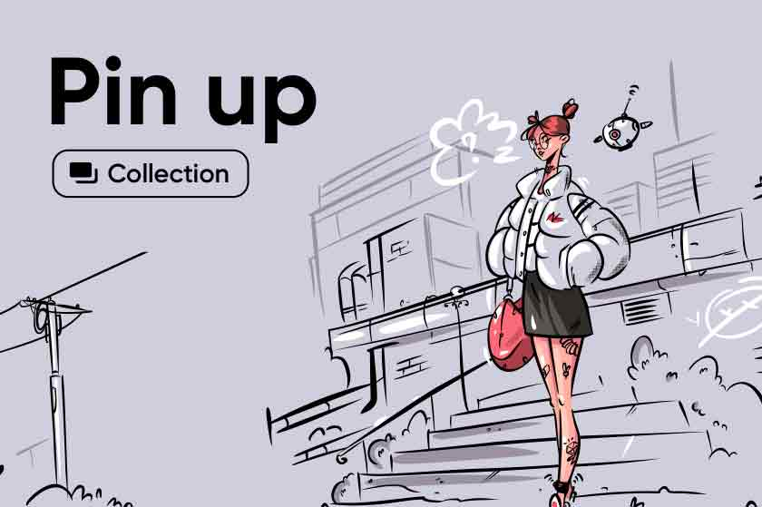 Pin up illustrations Collection