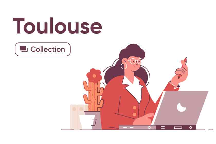 Toulouse illustrations series