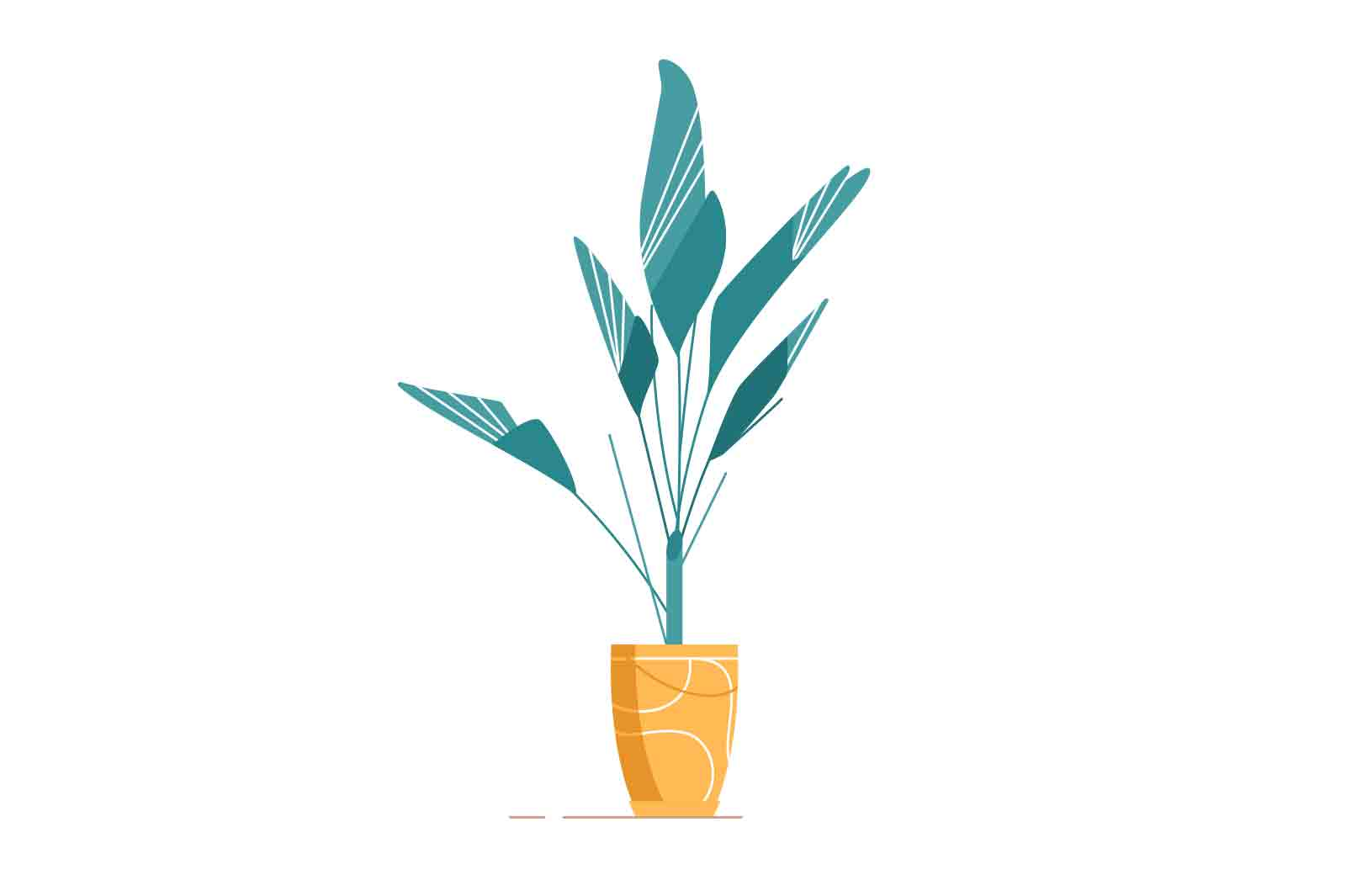 Simple calm plant animation ready for web page integration with Lottie file. After Effects file also included.