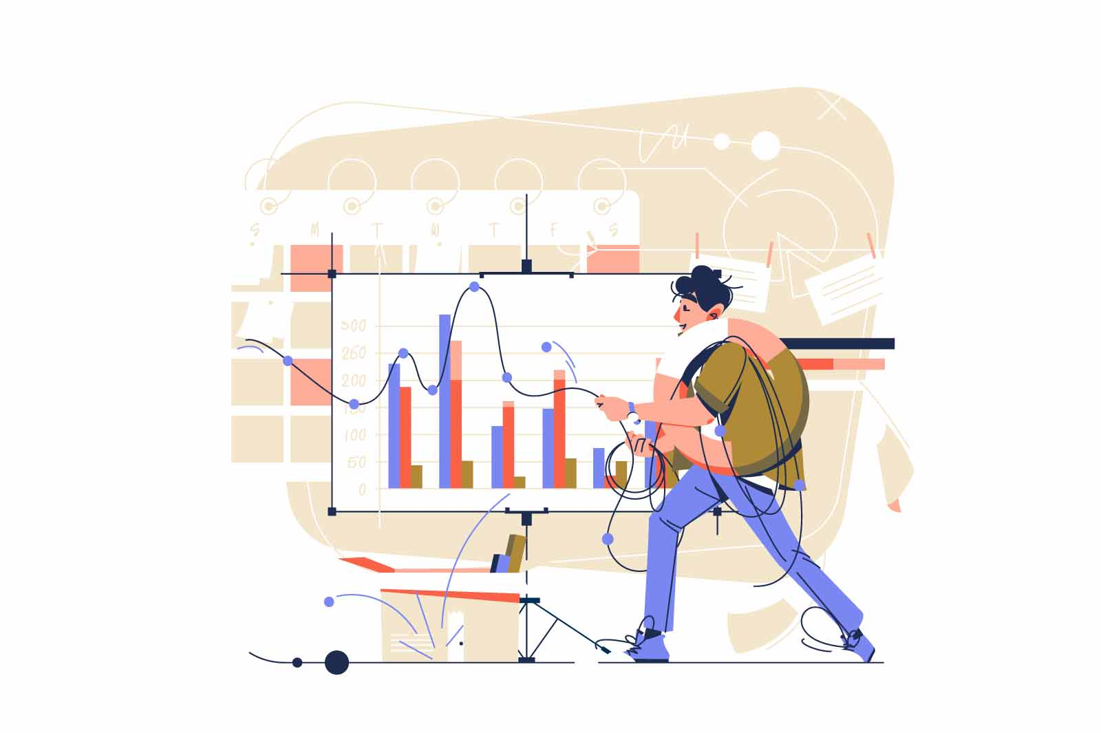 Guy monitor and analyze statistics